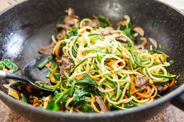 spiralized zucchini noodles japchae korean recipe-5075