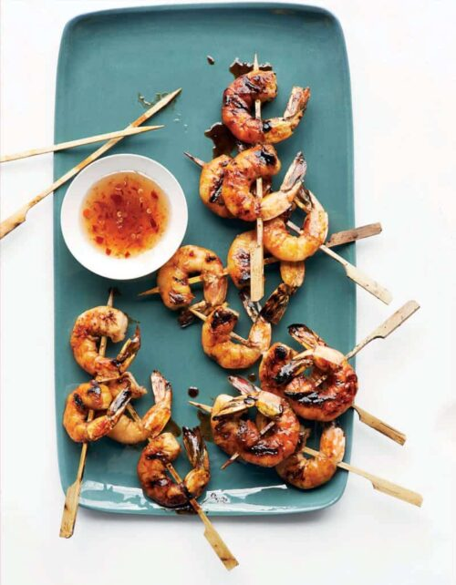 shrimp on skewers