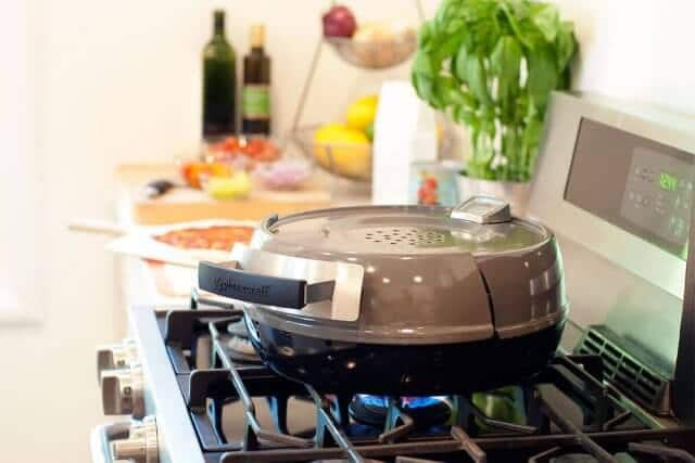 Pizzeria Pronto Stovetop Pizza Oven Review Amp Giveaway