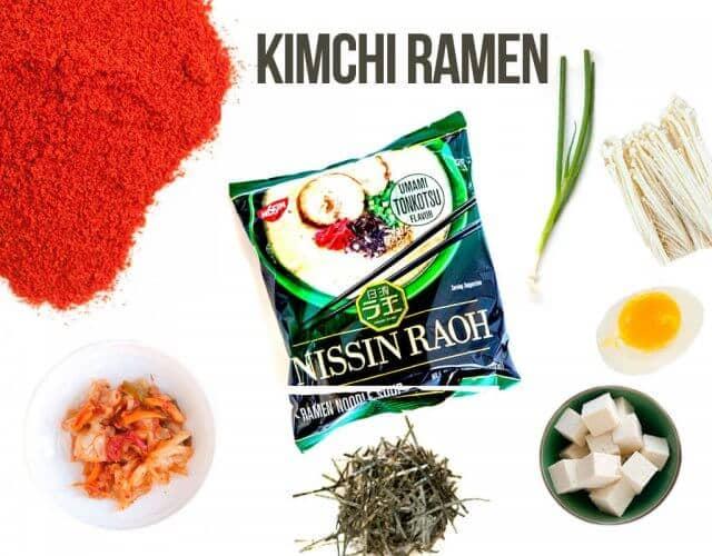 kimchi-ramen-recipe-ingredients