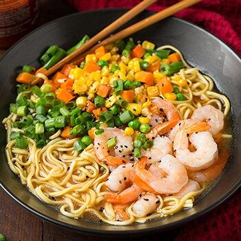 Cooking-Classy-shrimp-veggie