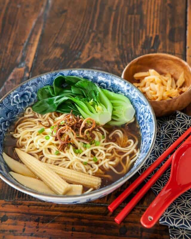 noodle soup baby bok choy recipe-5584
