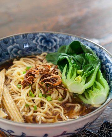 noodle soup baby bok choy recipe-5593