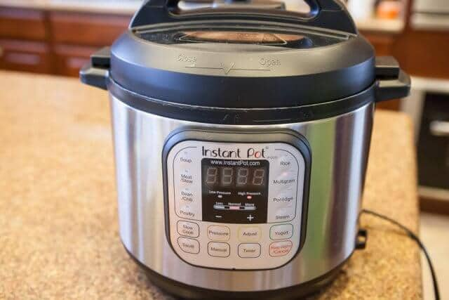 chinese sausage brown rice pressure cooker recipe-2-5935