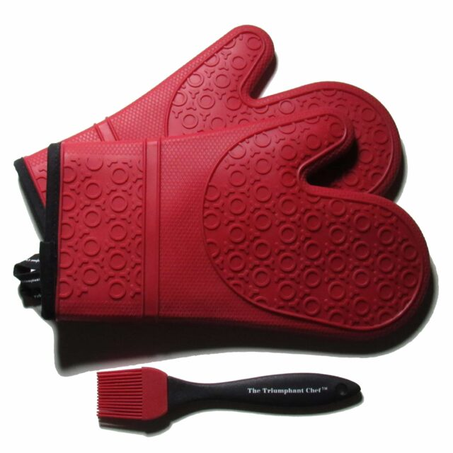 best silicone oven mitts 1