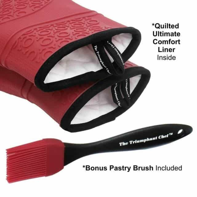 best silicone oven mitts 3