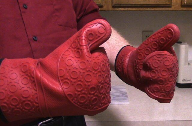 best silicone oven mitts 7