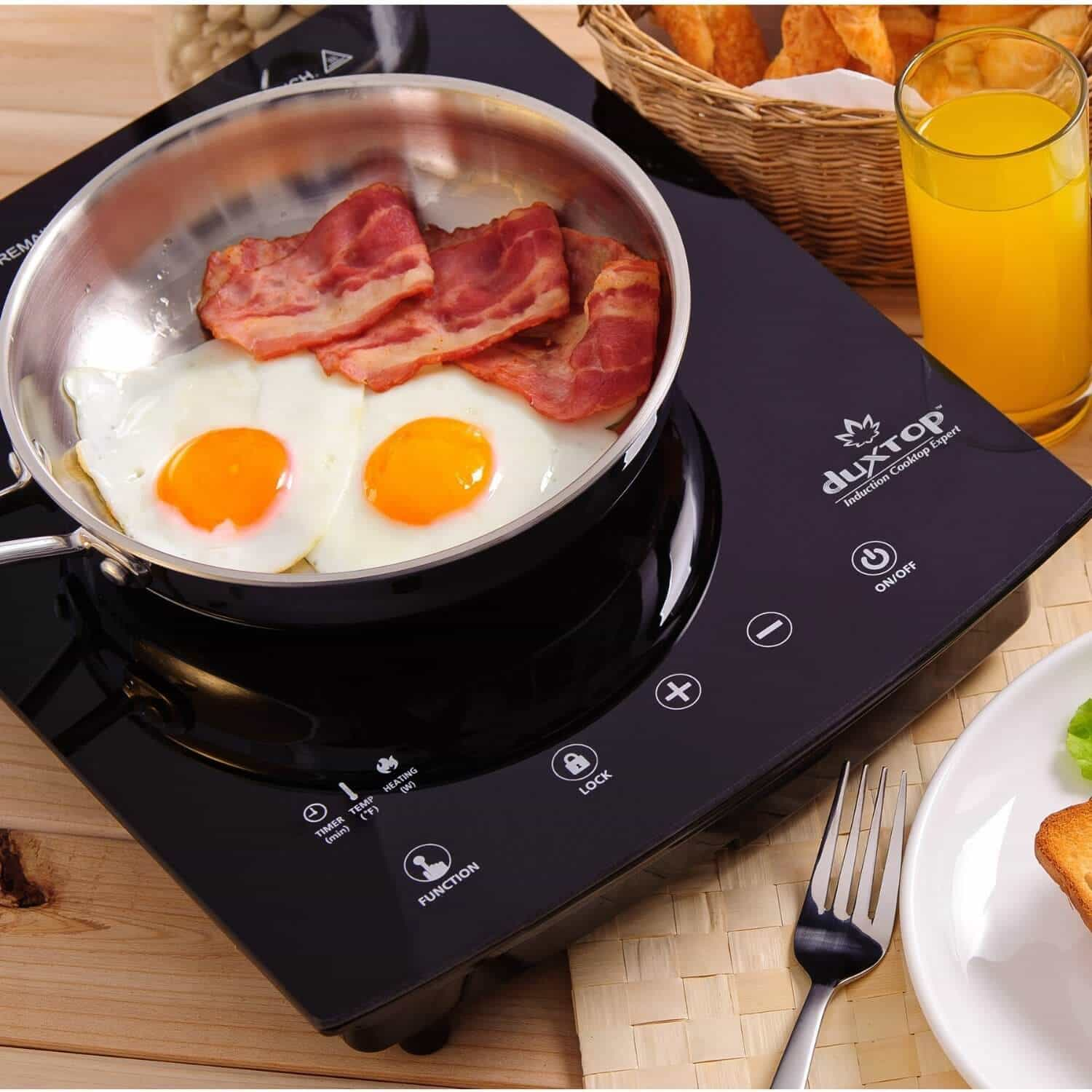Duxtop 8300st Portable Induction Cooktop Review Amp Giveaway