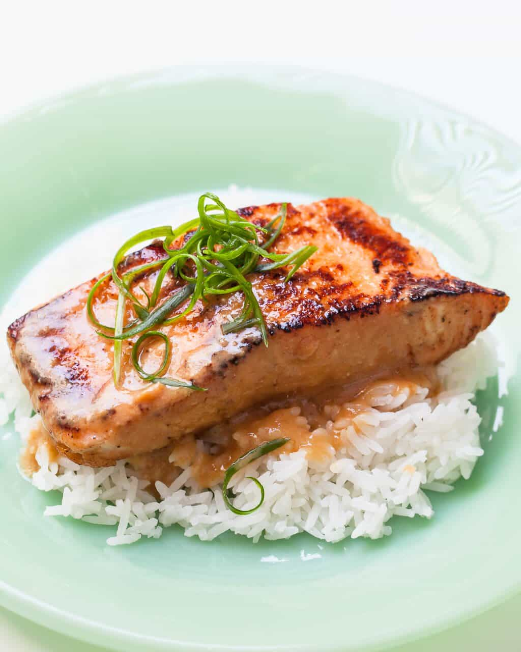 Miso Salmon Recipe • Steamy Kitchen Recipes Giveaways