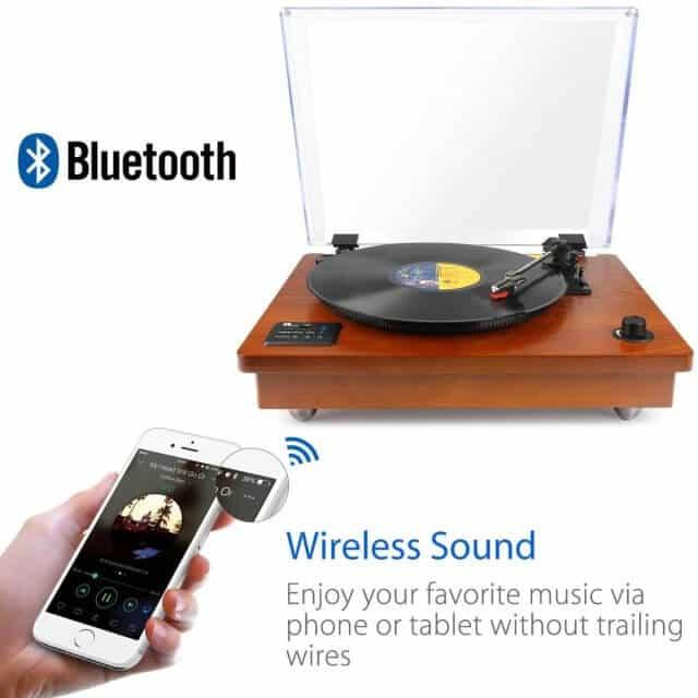 bluetooth turntable 2
