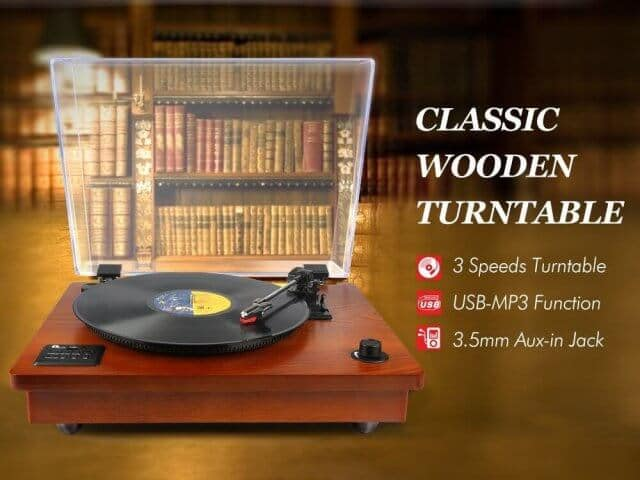bluetooth turntable 5