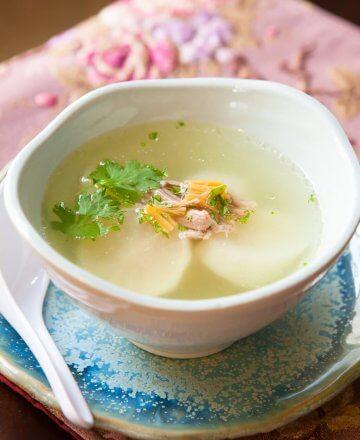 Chinese Daikon Soup Recipe