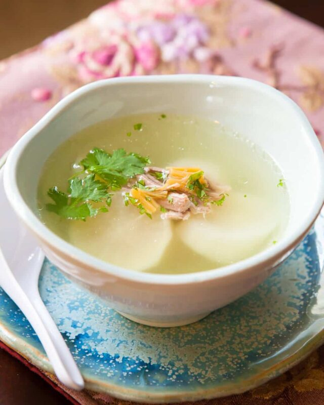 chinese daikon soup