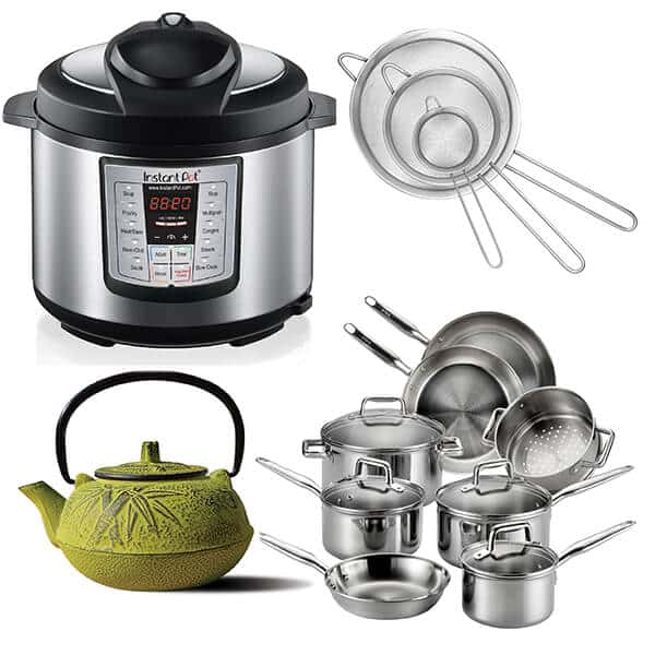Today's Deals: Instant Pot, Japanese Teapot, 12-Piece Cookware