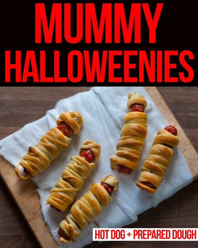 Mummy Halloweenies • Steamy Kitchen Recipes