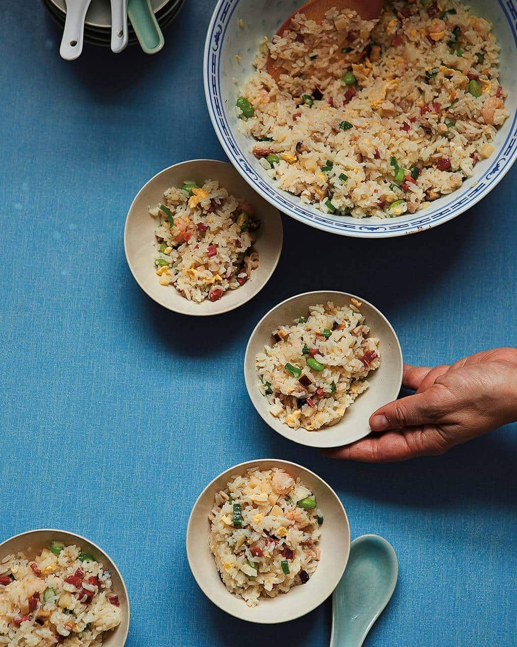 Kitchen Recipes: Yangzhou Fried Rice Recipe