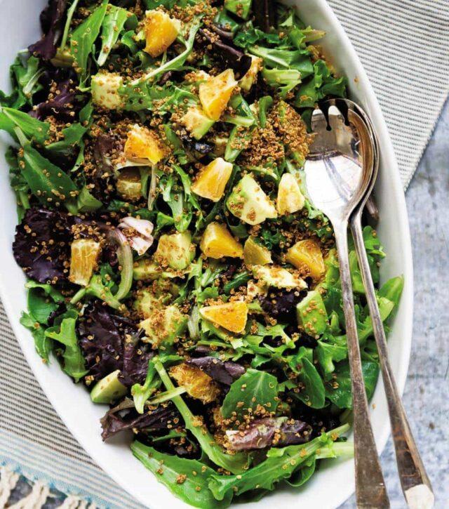 Citrus Salad with Crispy Quinoa Recipe