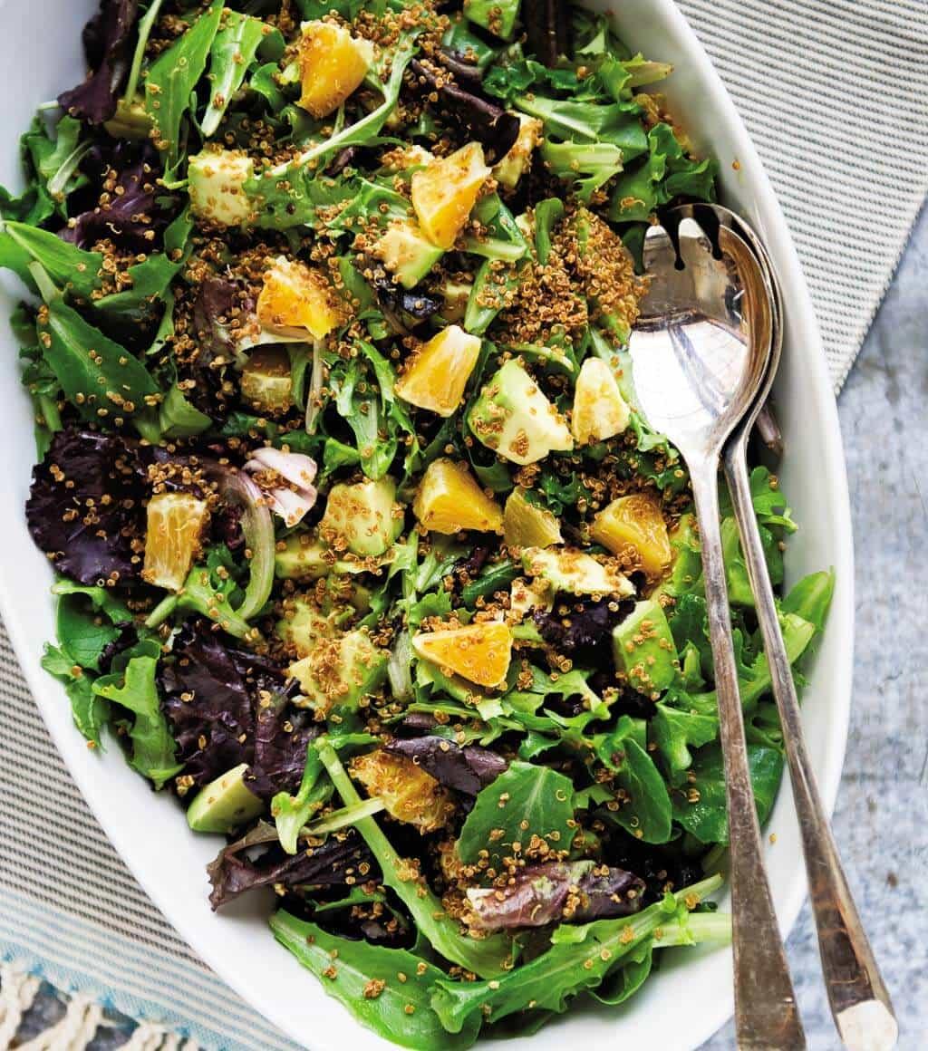 Citrus Salad with Crispy Quinoa