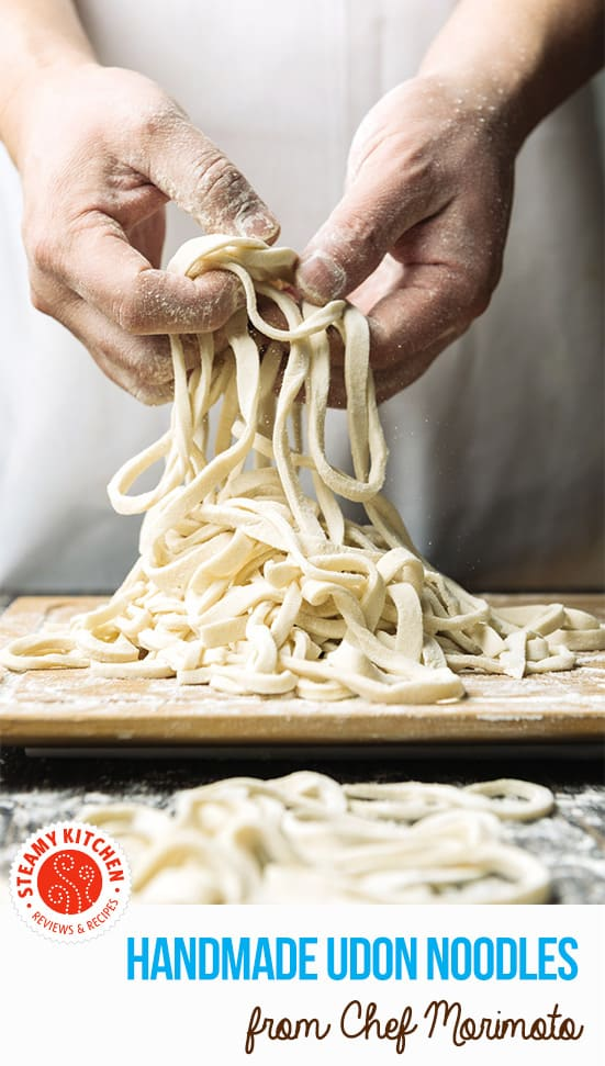 How to Make Udon Noodles Recipe from Iron Chef Morimoto