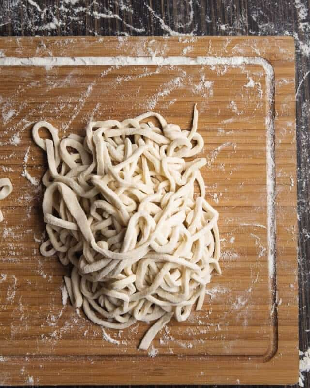 Homemade Udon Noodle Recipe - Morimoto cookbook Japanese Home Cooking