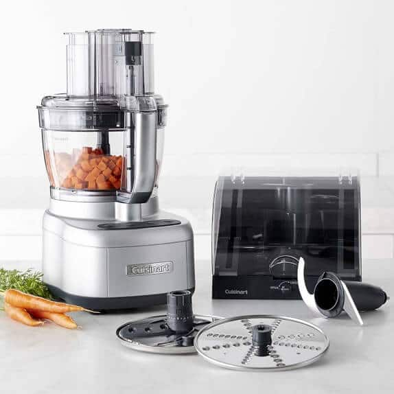 Cuisinart Elemental 13 Cup Food Processor Review Giveaway Steamy