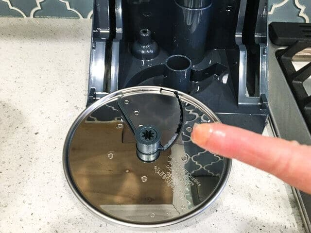 Food Processor Blade Carrot Stuck