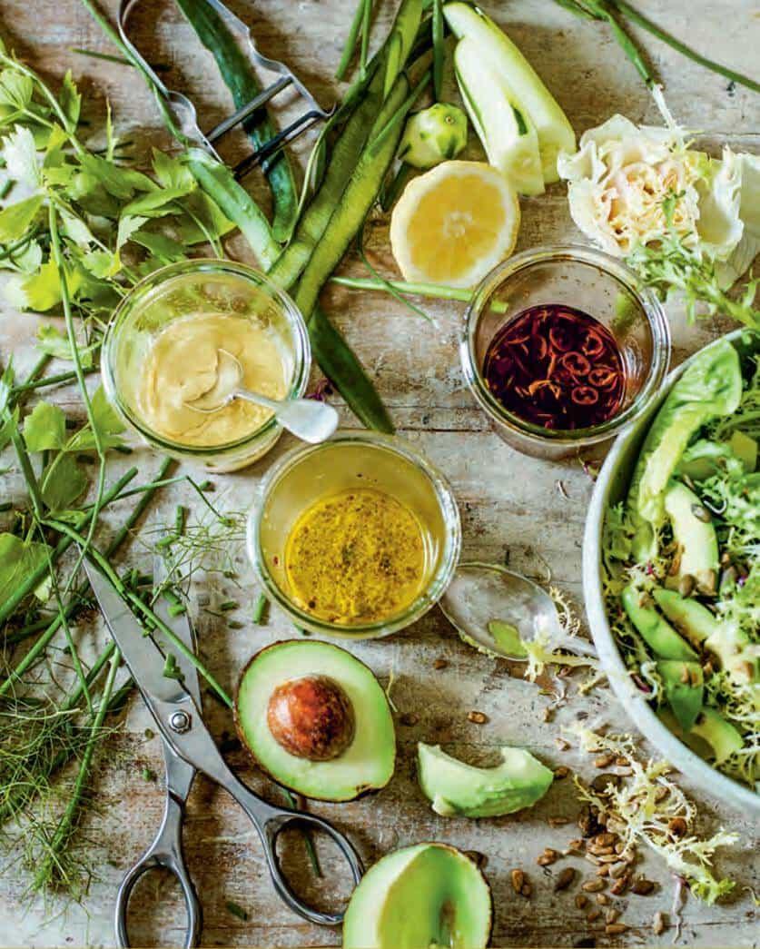 Four Essential Salad Dressings Recipes