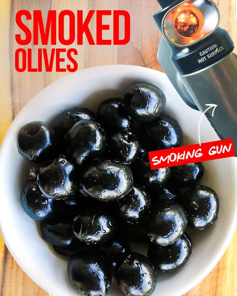 How To Smoke Olives With A Smoking Gun