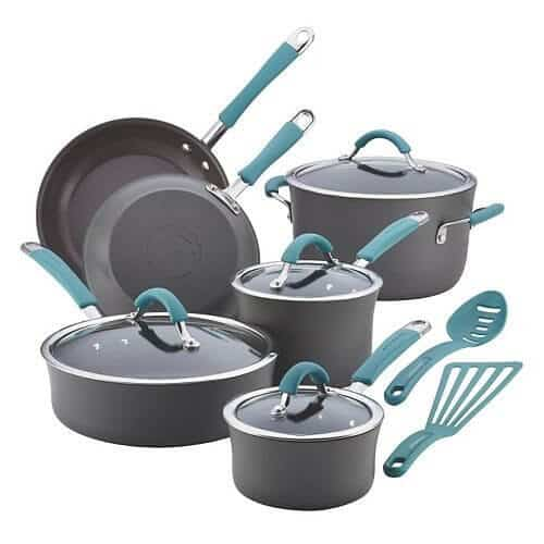 Rachael Ray Hard Anodized Cookware Set Review & Giveaway ...