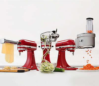 Kitchenaid artisan mixer giveaway steamy kitchen recipes - Kitchen aid artisan accessories ...