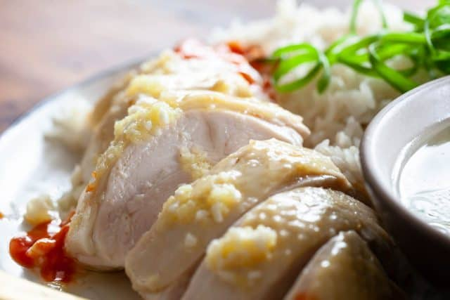 Hainanese Chicken Rice Recipe A Family Recipe Steamy Kitchen