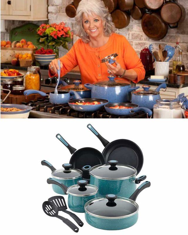 Paula Deen Riverbend 12-Piece Cookware Set Giveaway