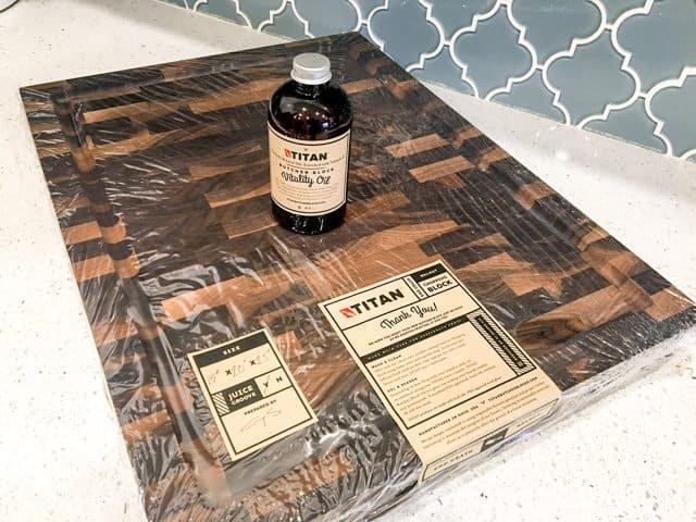 Titan Butcher Blocks Review - vitality oil
