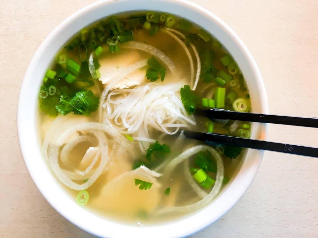 Slow Cooker Chicken Pho Recipe (Pho Ga)
