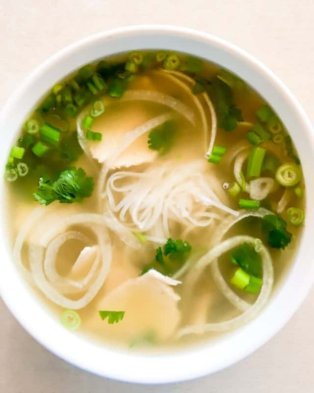 Pho Ga Vietnamese Chicken Noodle Soup Steamy Kitchen Recipes