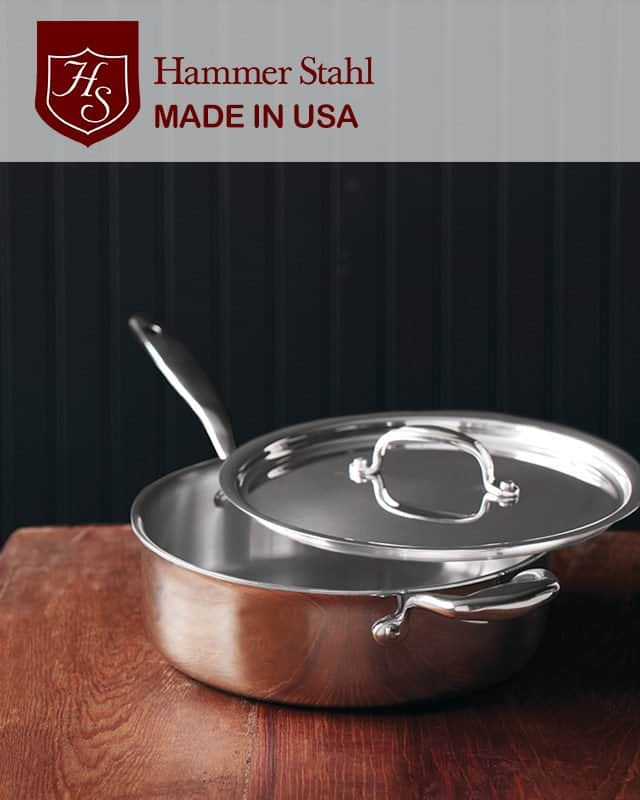Hammer Stahl 4qt Saute Pan Review