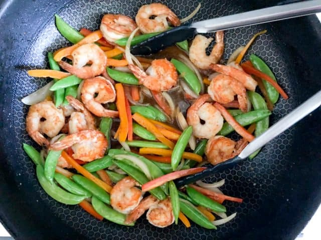 Shrimp Teriyaki Recipe stir fry