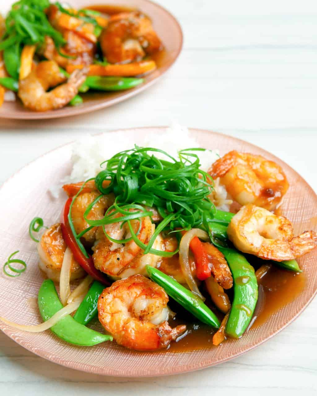Shrimp Teriyaki Stir Fry Recipe