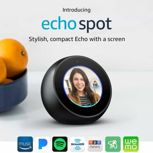 Amazon Echo Spot Giveaway