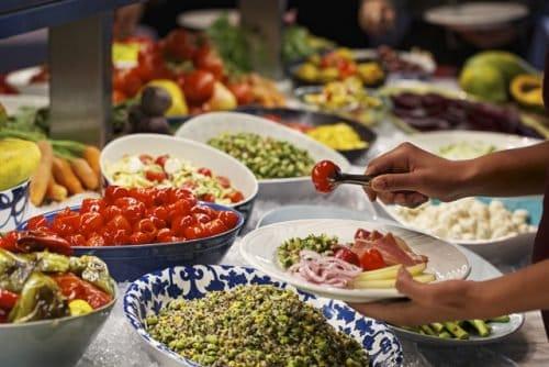 Fogo de Chao las vegas review - salad