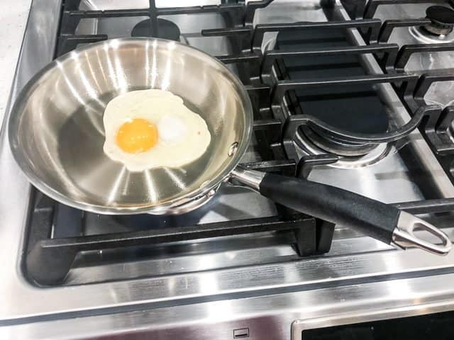 Anolon Advanced Tri-Ply Cookware review frying pan