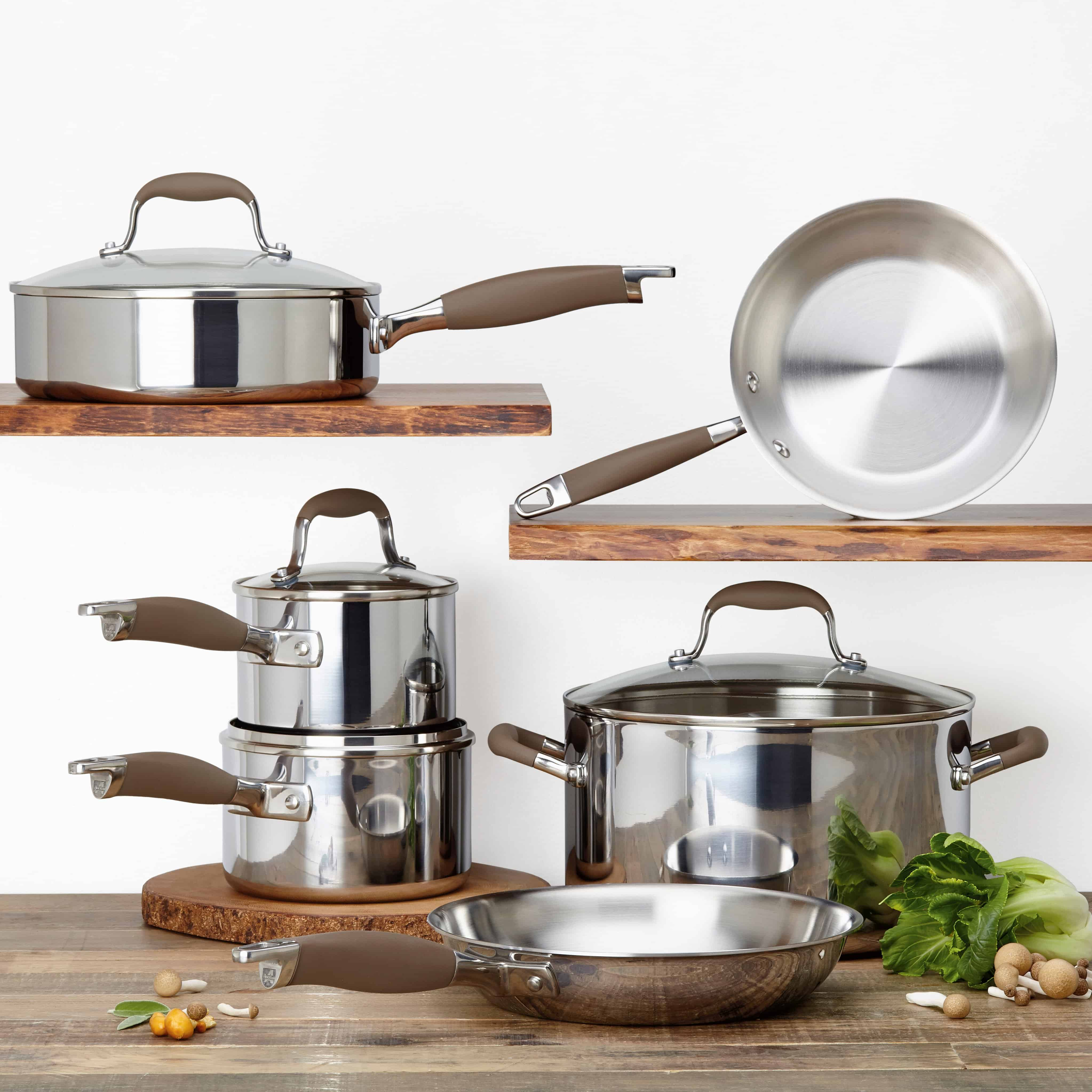 Anolon Advanced Tri Ply 10-Piece Cookware Set Review & Giveaway ...