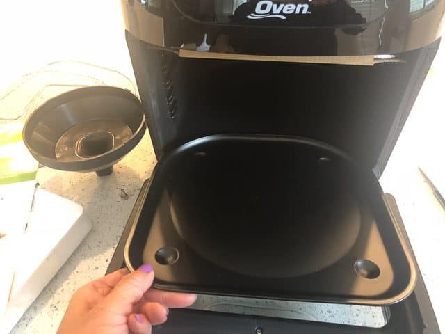 Power Air Fryer Oven Review - tray