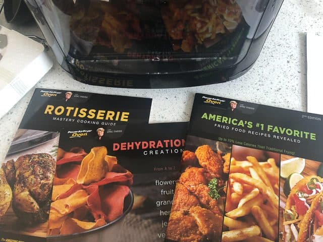 Power Air Fryer Oven Review - whats in box
