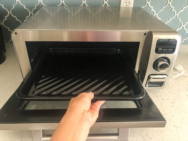 Sharp Superheated Steam Oven Review crisper tray