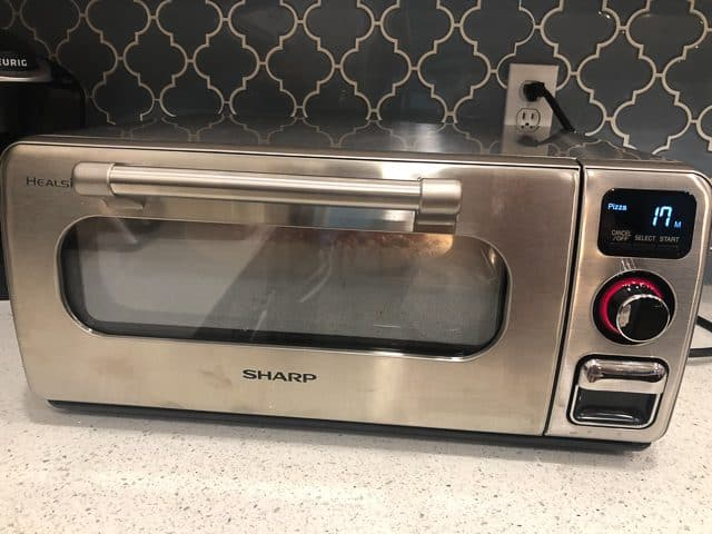 Sharp Superheated Steam Oven Review pizza