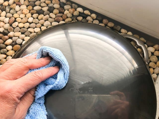 Hestan NanoBond Wok cleaning