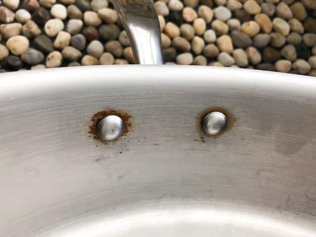 Hestan NanoBond Wok flush rivets