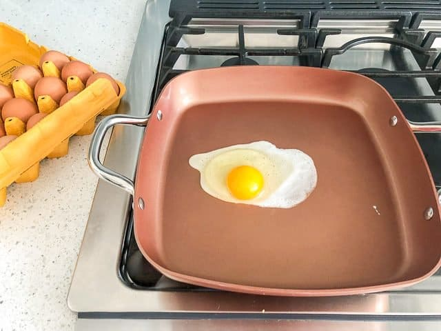 Copper Chef Wonder Cooker Review - egg