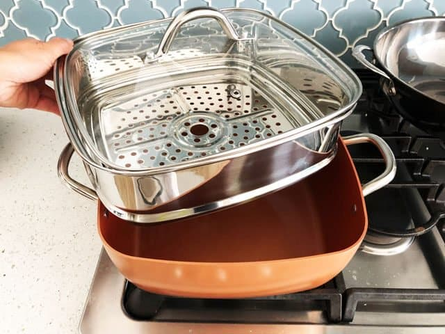 Copper Chef Wonder Cooker Review Amp Giveaway Steamy
